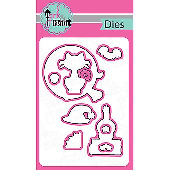 Pink And Main Dies-Witch Brew, 9/Pkg PNM047