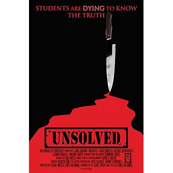 Unsolved Movie Poster Print (27 x 40)