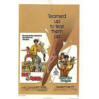Heiße PotatoEnter Dragon Film Poster drucken (27 x 40)