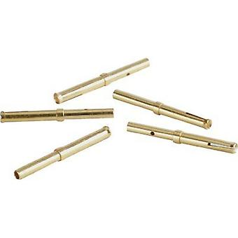 Connector receptacle AWG (min.): 22 AWG max.: 22 Brass 3 A Conec 162A18419X 1 pc(s)