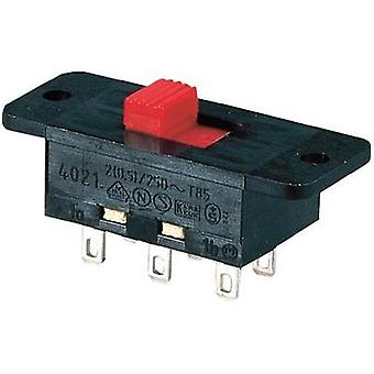 Marquardt 4021.0101 Slide Switch 4021.0101 2 x on/on 250 Vac 2 (0,5) A