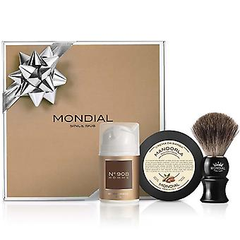 Mondial 1908 luksus Herre barbering gave Pack Nº908 Italien