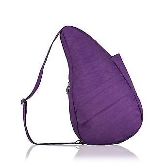 The Healthy Back Bag textured Nylon met Ipad vak Purple Medium