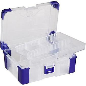 Assortment box (L x W x H) 160 x 120 x 60 mm VISO JAP 1713 No. of compartments: 11 variable compartments