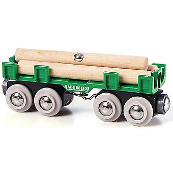 BRIO hout laden Wagon