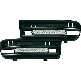 Daytime running lights LEDs Compatible with (car make) Volkswagen DINO 610850 LED Daytime Running Lights VW Golf 4
