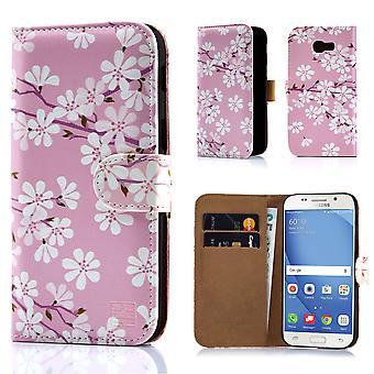32e livre Design floral pour Samsung Galaxy A5 (2017) - CherryBlossom