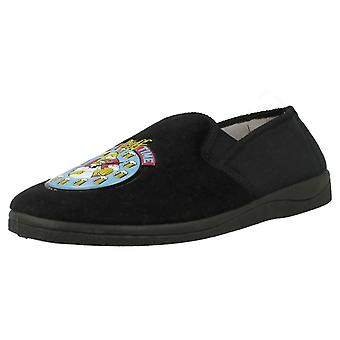 Mens The Simpsons 'Its Duff Time' Full Slippers