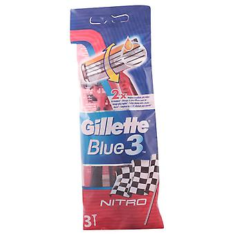 Gillette Shaved Blue 3 3U machine (Homme , Rasage , Lames)