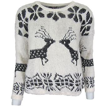 Rendieren pluizig Jumper-ONE SIZE