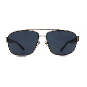 Levis Metal Square Sunglasses In Gold Polarised