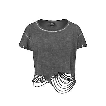 Urban Classics Cut Cropped Tee