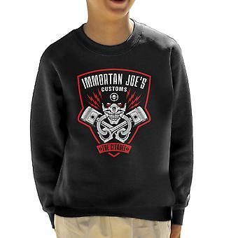 Immortan Joes Customs Mad Max Fury Road Kid's Sweatshirt