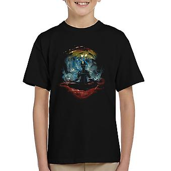 The Last Space Bender Avatar The Last Airbender Meditate Kid's T-Shirt