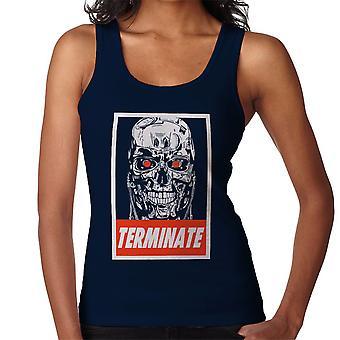 Terminator lyda affisch kvinnor Vest