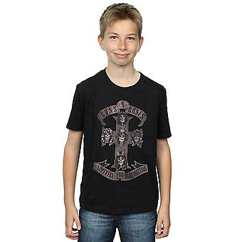 Guns N Roses Boys Appetite For Destruction Sepia T-Shirt