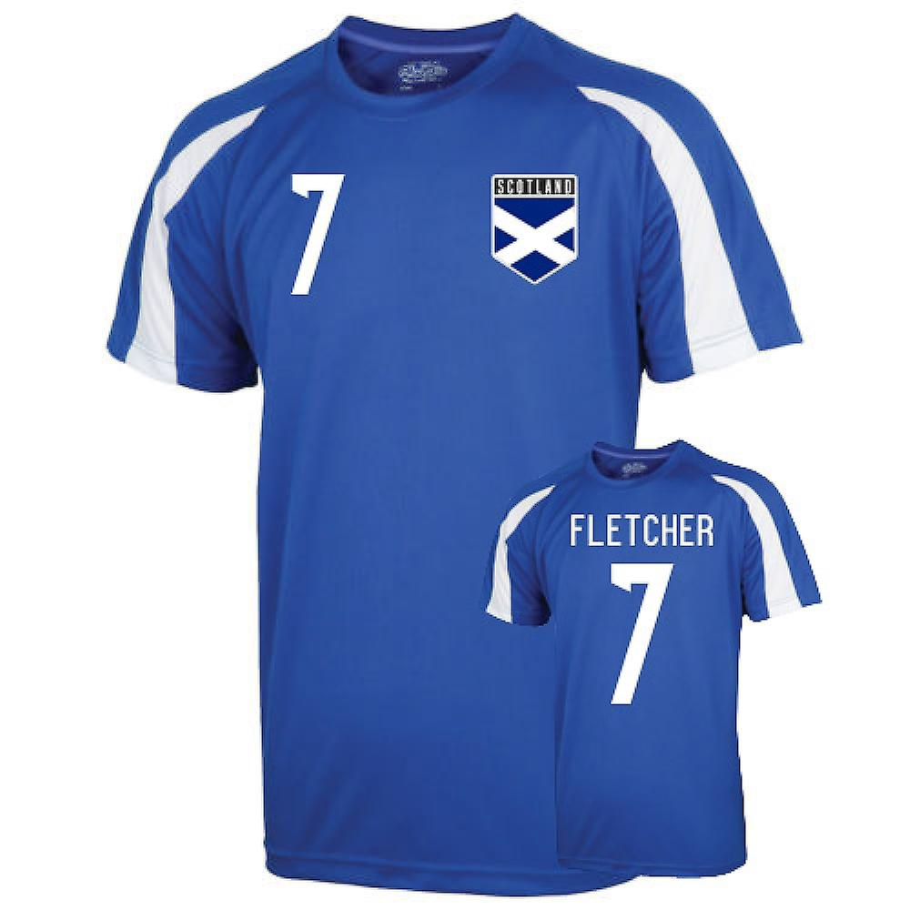 Scotland Sports Training Jersey (fletcher 7)