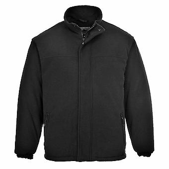 Portwest - Yukon gesteppte Workwear Warm Ant-Pille-Fleece-Jacke