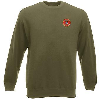 1st Bn 11th USMC Marines Embroidered Logo - Heavyweight Sweatshirt