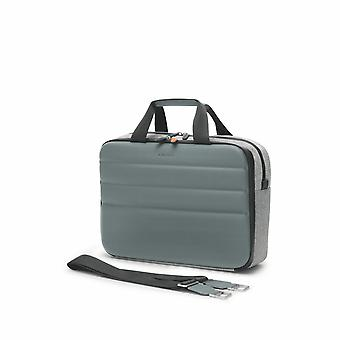 "Fedon 1919 Ninja Collection NJ File 2 Doc Grey / Silver Premium Aktentasche 13"" Laptop Notebook MacBook Tasche Grau Silber"