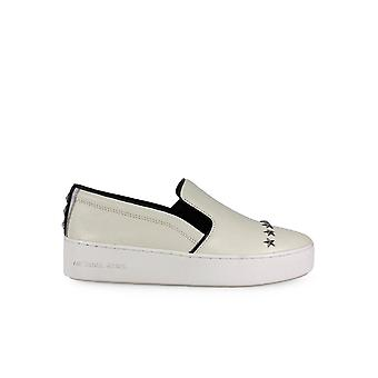 MICHAEL KORS TRENT STAR STUDS WHITE SLIP ON