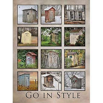 Go in Style Poster Print by Lori Deiter (12 x 16)
