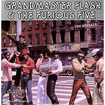 Grandmaster Flash & rasende fem - besked [Vinyl] USA importerer