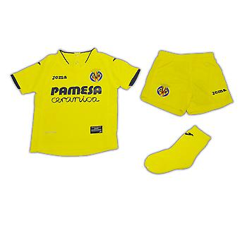 2016-2017 Villarreal Joma hem Mini Kit