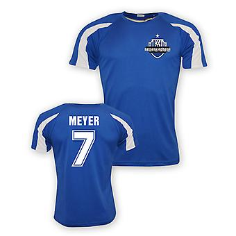 Max Meyer Schalke Sports Training Jersey (blue)