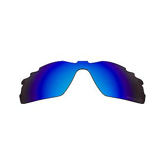 Replacement Lenses Compatible with OAKLEY VENTED RADAR PITCH Polarized Blue
