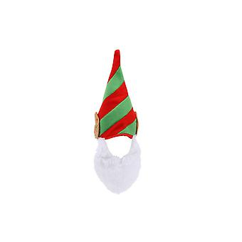 CGB Giftware Christmas Elf Hat and Beard