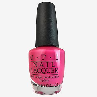 OPI Lacquer-Hotter Than You Pink