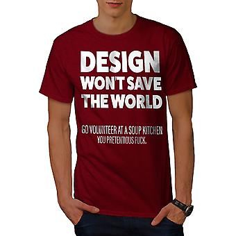Diseño sälber-camisa de los hombres voluntarios | Wellcoda