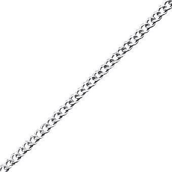 Plain - 925 Sterling Silver enda kedjor