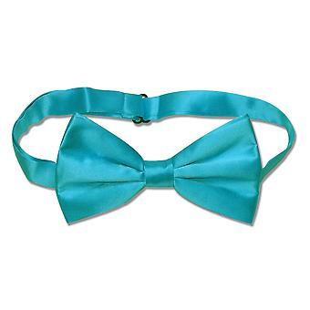 100% SILK BOWTIE Solid Men's Bow Tie for Tux or Suit