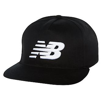 New Balance 5 Panel Pro II Logo Cap - Black