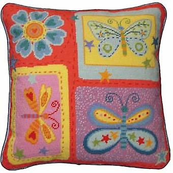 Vlinders Needlepoint Canvas
