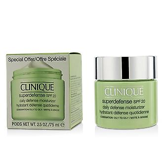 Clinique Superdefense Daily Defense Moisturizer SPF 20 - Combination Oily to Oily (Limited Edition) - 75ml/2.5oz