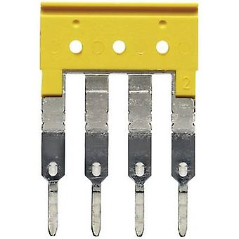 Weidmüller 1608880000 ZQV 2.5/4 Cross Connection Compatible with (details): PDU 2.5/4 /3/4AN/ZIA