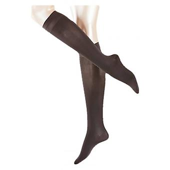 Falke Vitalize 40 Denier Semi Opaque Leg Vitalizer Knee High Tights - Anthracite Grey