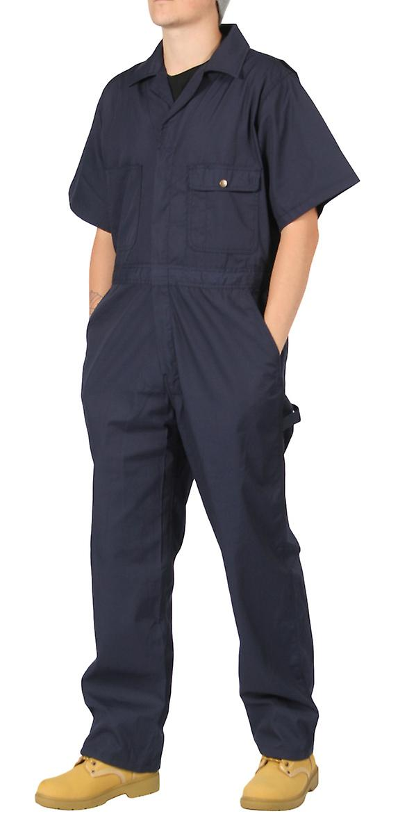 KEY Navy Unlined Coveralls Mens Unlined Work Coveralls Vet clothing overalls