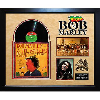 Bob Marley - The Birth Of A Legend - Signed Album Custom Framed