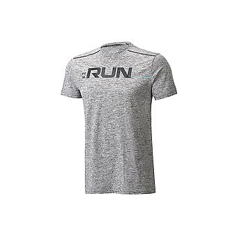 UA Run Front Graphic SS Tee 1316844-001 Mens T-shirt