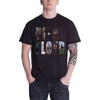 Pink Floyd T Shirt Mens Black Echoes Album Montage new official