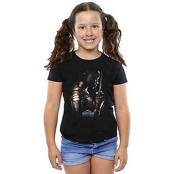 Filles de Marvel Black Panther Okoye Poster T-Shirt
