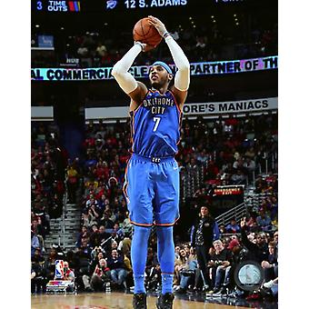 Carmelo Anthony 2017-18 Action Photo Print