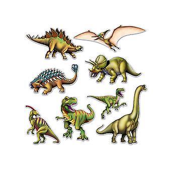 Dinosaur udskæringer