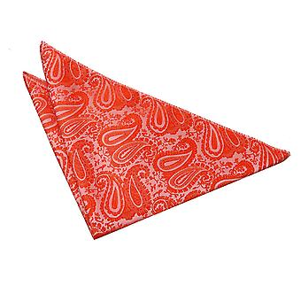 Fazzoletto da taschino Paisley Burnt Orange