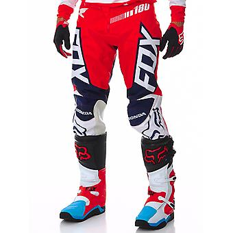 Fox Red-White 2017 180 Honda MX Pant