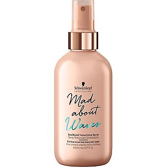Schwarzkopf Professional Mad Waves Spray Marino 200 ml (Hair care , Styling products)